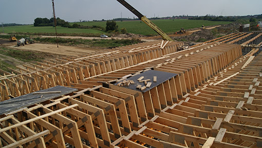 Formwork and shingles